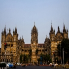 Chhatrapati Shivaji Terminus (CST) was built by the British colonial government in a Neo-Gothic style based on late medieval Italian models. Completed in 1888, it was a terminus for the Great India Peninsula Railway (GIPR) and a building for its offices.